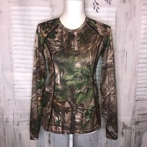 Game Winner real tree camouflage long sleeve small
